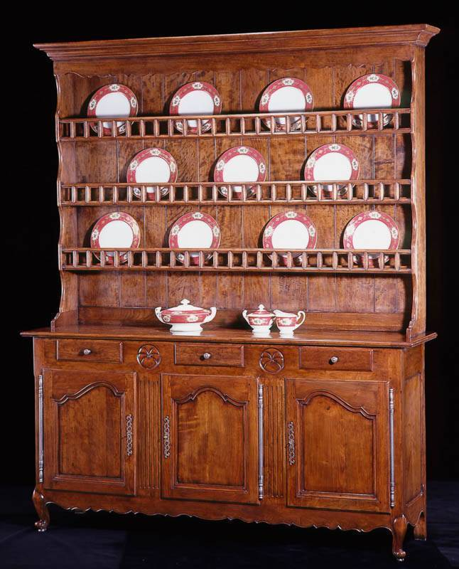 French Provincial Style Dresser By Bodart At 1stdibs